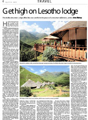 Maliba Lodge in Johannesburg Star!