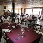 Mountainside Retreat Dining Area