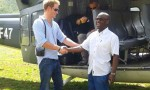 Prince Harry and Maliba Director, Stephen Phakisi