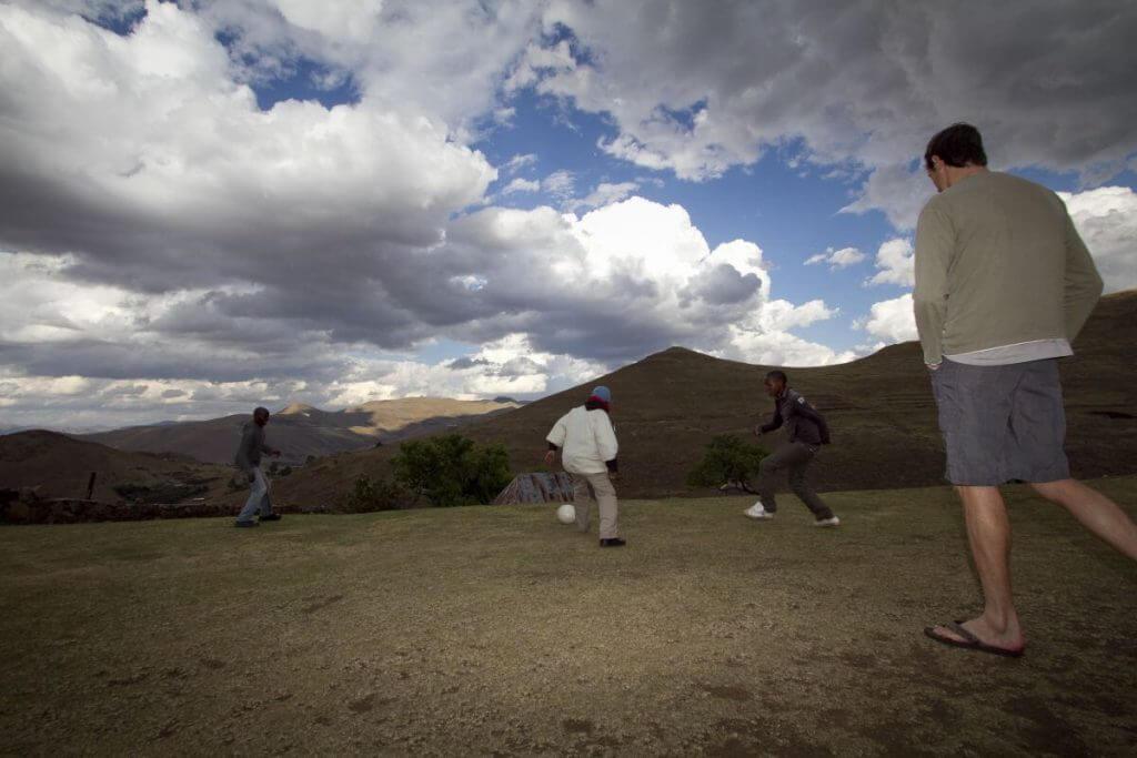 Community Visit Lesotho